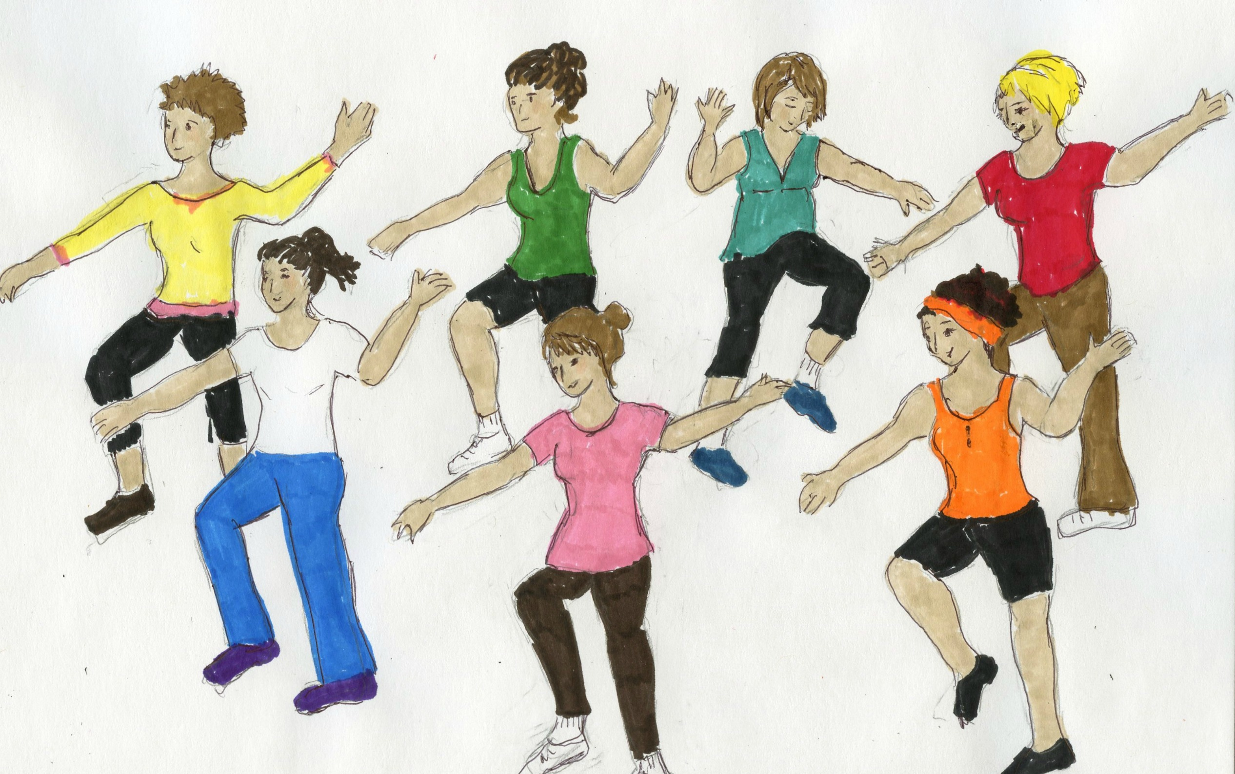 zumba images clip art - photo #20