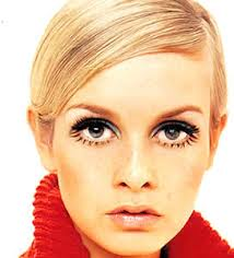 Twiggy...but I swear I looked exactly like her.