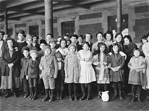 Ellis Island. Courtesy:  Wikipedia