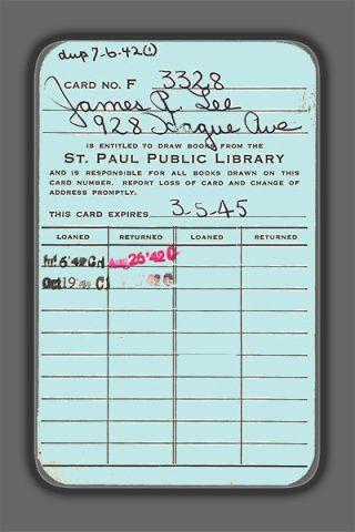 library cardrev