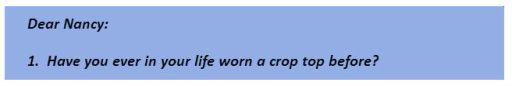 crop top q1
