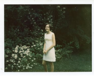 High School Graduation, 1969. A Grown-Up.