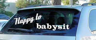 babysit